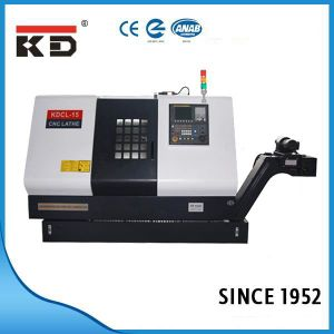 High Precision CNC Slant Bed Lathe Kdcl-15 pictures & photos
