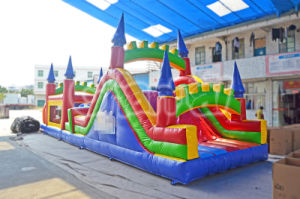 Commercial Inflatable Castle Obstacle Course Chob236 pictures & photos