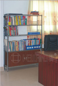 Hot Sale DIY Chrome Metal Book Display Rack for Office pictures & photos