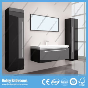 The Latest Popular and Modern Wood MDF Large Space Bathroom Furniture (B794D) pictures & photos
