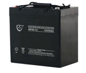 12V55ah Valve Regulated Lead-Acid Battery