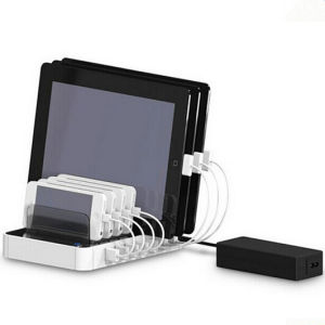 Multi-Function 7 Port USB Charger Desktop Charging Station pictures & photos