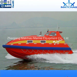Inboard Engine FRP Rescue Boat or Craft with Davit pictures & photos