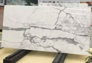 China/Natural/Snow Flower White Marble Slabs for Floor Tiles/Counter Tops/Bathroom Tiles pictures & photos