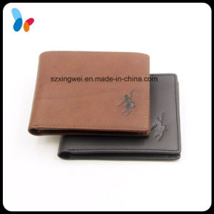 Custom Key Bag Money Bag Wallet Cowhide Genuine Leather Wallet for Men pictures & photos