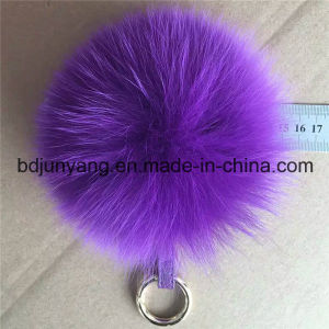 Fashion Real Fox Fur Pompons for Woman Bag pictures & photos