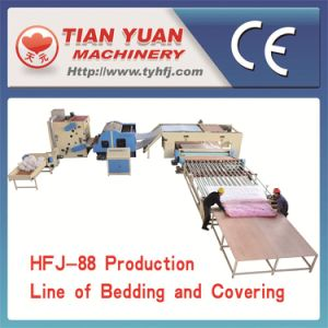 High Quality Bedding and Covering Production Line (HFJ-88) pictures & photos
