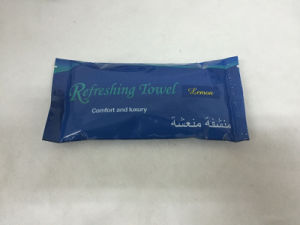 Refreshing Wet Tissue Cotton Wet Towel pictures & photos