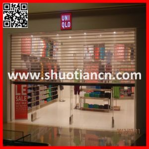Durable High Quality Transparent Rolling Shutter Door (ST-003) pictures & photos