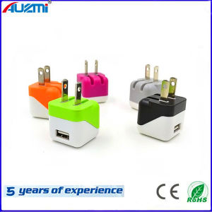 Folding Style AC Plug USB 2.0 Mobile Phone Charger pictures & photos