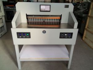 Professional Manufacturer Paper Cutter Paper Cutting Machine (WD-7208PX) pictures & photos