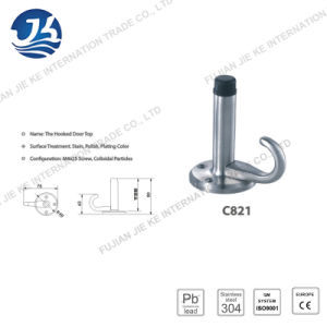 Stainless Steel Door Stopper with Hook (C821) pictures & photos