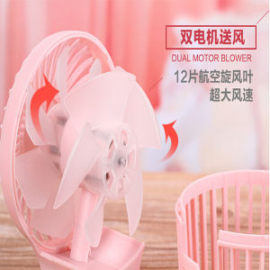 Hot Sell Gift Mini DC 5V Rechargeable Fan pictures & photos