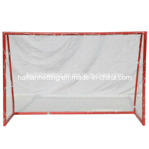 Red Color Powder Coated Portable Soccer Goal pictures & photos