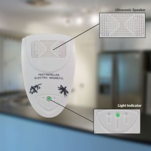 Electronic Ultrasonic Rodent Repeller Controls Home Pests Repel Mice, Rats, Moths, Bats, Mosquitoes, Flies, Fleas, Spiders and More Insects Pest Reject pictures & photos