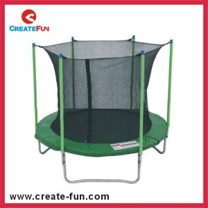 Createfun Commercial 8ft Large Outdoor Cheap Kids Trampoline