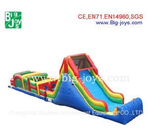 Commercial Inflatable Obstacle Course, Interactive Inflatables, Inflatable Sports Games (DJOB002) pictures & photos
