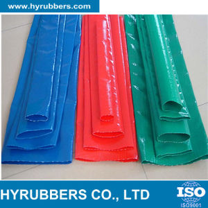 "1""-12"" Heavy Duty PVC Lay Flat Pool Discharge Hose pictures & photos"