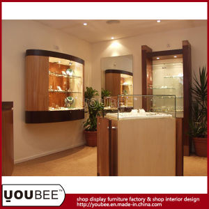 Jewelry Display Showcase, Jewellery Display Cabinet From Factory pictures & photos