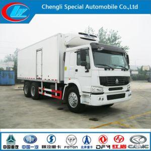 Sinotruck Hwo Desgine 25t Refrigerator Truck6X4 Freezer Truck Good Price HOWO Cooling Van Truck pictures & photos