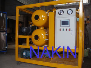 Zyd Double Stages Vacuum Transformer Oil Filtration Machine pictures & photos