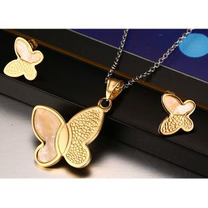 Stainless Steel Jewelry Butterfly Jewelry Fashion Jewelry (hdx1089) pictures & photos
