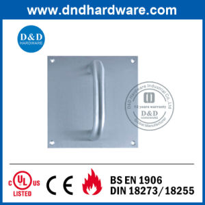 Pull Handle with Plate for Glass Door pictures & photos