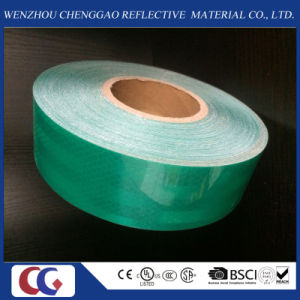 High Quality Micro Prism Green Reflective Material Tape for Trucks pictures & photos