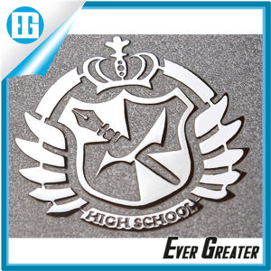 Embossed Chrome Metal Sticker for Digital Products pictures & photos