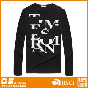 Men′s Fashion Black T-Shirt pictures & photos