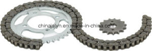 Motorcycle Parts Motorcycle Sprocket and Chain for Italika Forza 125 38t/15t, 428X108L pictures & photos