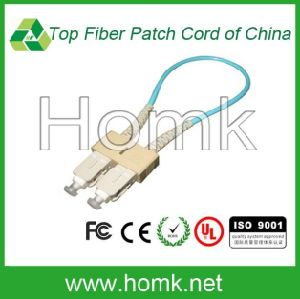 Om3 Loopback Fiber Optic Patch Cord pictures & photos