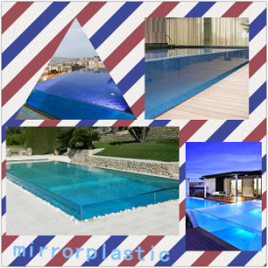 China 100 lucite virgin material clear acrylic swimming pool china clear acrylic swimming for Duck repellent for swimming pools