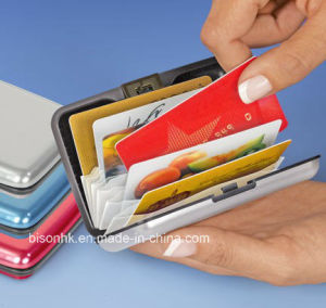 High Quallity Security Credit Card Holder, Security Credit Cardcase pictures & photos