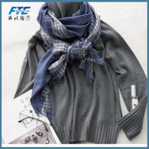 Scarves & Wrap Double-Side in Stock Cashmere Women′s Hijab Scarf pictures & photos