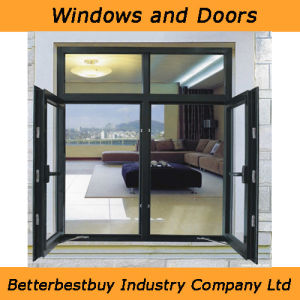 Ce Certificate Swing Aluminum Window with Low-E Glass pictures & photos