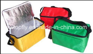 Customized Nonwoven Thermal Insulation Picnic Lunch Bag Ice Cooler Bag pictures & photos