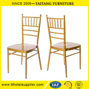 Model Metal Chiavari Chair Wedding Tiffany Chair pictures & photos