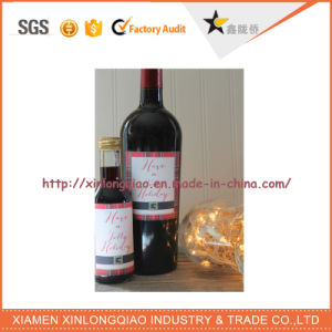 Waterproof Customized Label Printing Design Printed Wine Bottle Sticker pictures & photos