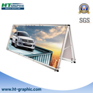 Light Weight Aluminum Frame Reusable Outdoor Banner