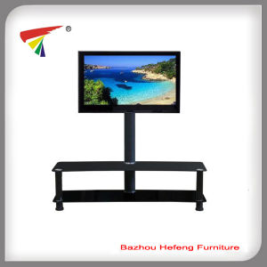 New Style Glass LCD Plasma TV Stand (TV067) pictures & photos