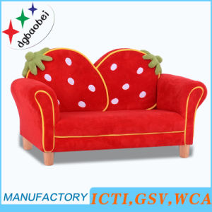 Hot Playroom Strawberry Baby Chair Sofa Children Furniture (SF-261) pictures & photos