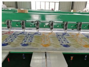 High Speed Embroidery Machine for Shoes and Hats pictures & photos
