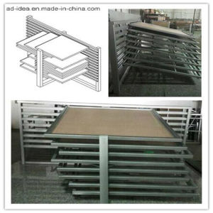 Sliding Panel Sample Tile Metal Display pictures & photos