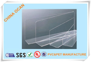 0.35mm Thick Transparent PVC Rigid Sheet for Folding Box pictures & photos