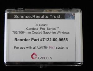 Candela Gentlelase Windows@755, 1064nm pictures & photos