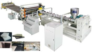PE Water-Proof Plastic Sheet Production/Extrusion/Extruder Machine pictures & photos