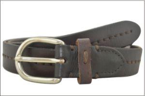 Genuine Leather Dark Brown Fashion Belt pictures & photos