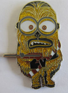 Custom Made Nickel Metal Badge for Minions Character (badge-190) pictures & photos