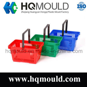 Plastic Shopping Basket Injection Mould pictures & photos